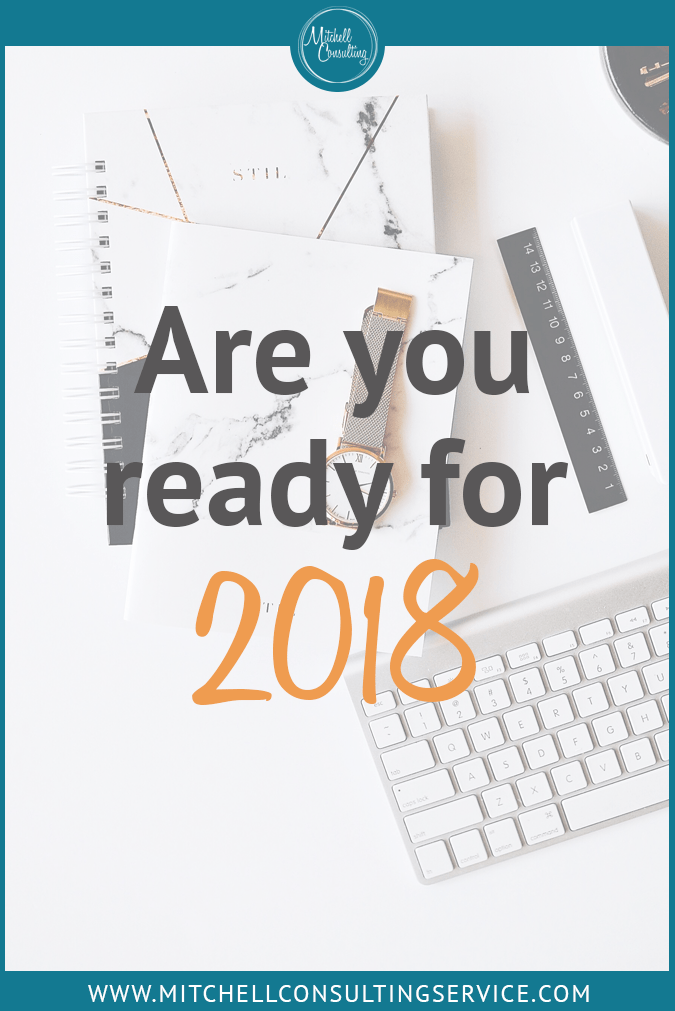 Are You Ready for 2018?