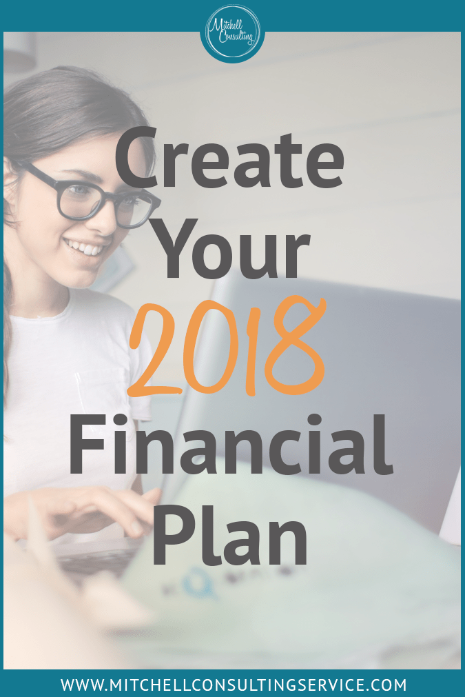 Create Your 2018 Financial Plan